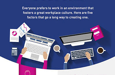 5 things that point to great workplace culture