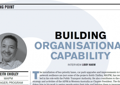 Building organisational capability: AIPM
