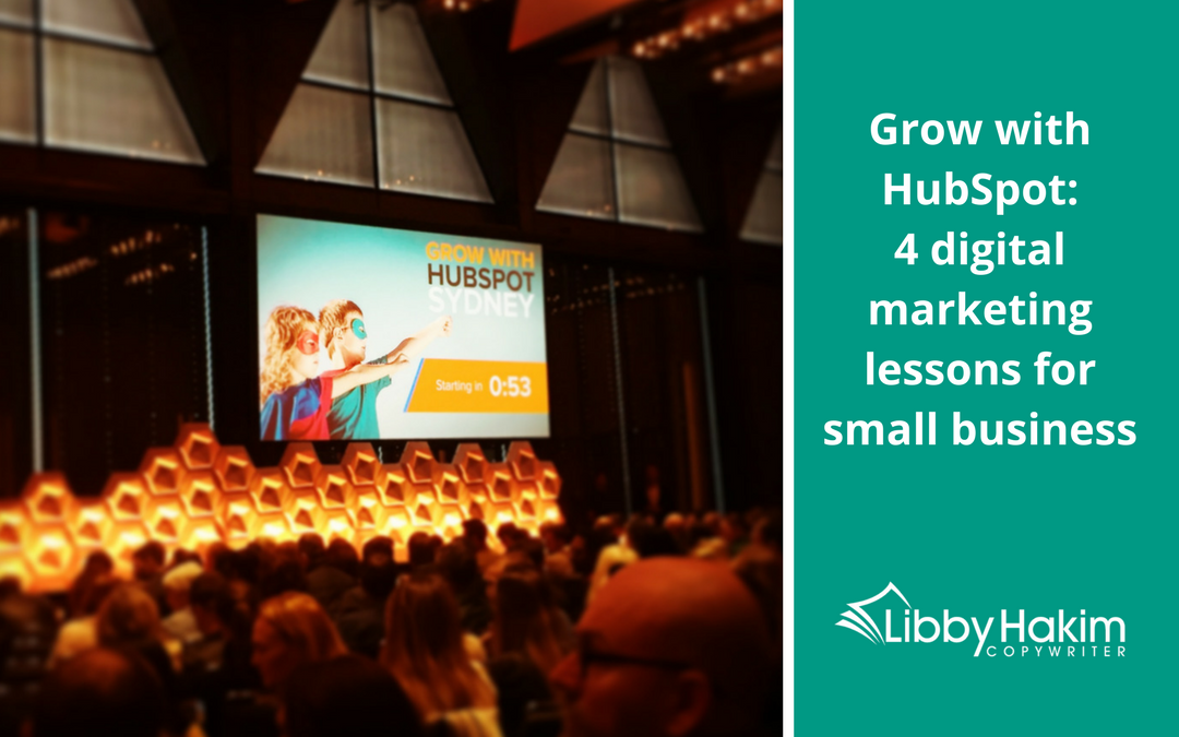 Grow with HubSpot: 4 digital marketing lessons for small business