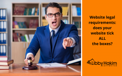 Website legal requirements: does your website tick ALL the boxes?