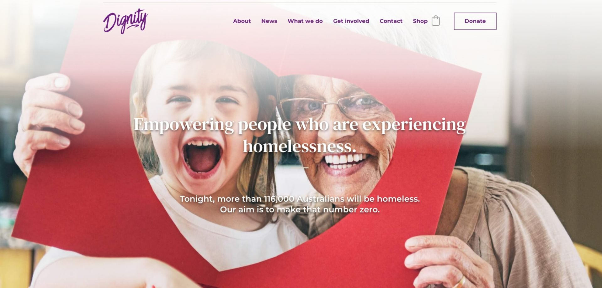 dignity website project